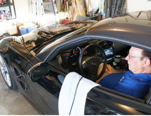 C6 Corvette trade in value increased $500 due to Magnetic Ride Control upgrade.